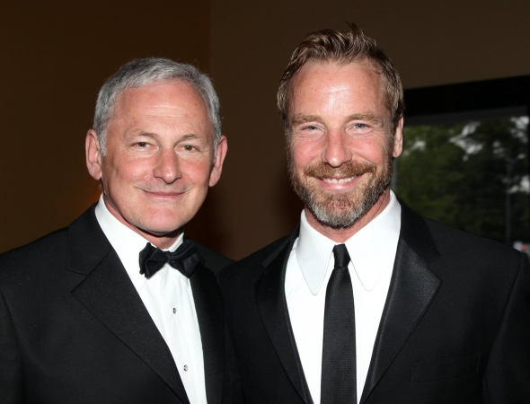 Victor Garber and Rainer Andreeson